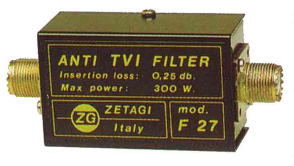 Zetagi F27 Low pass filter